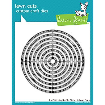 Lawn Fawn Just Stitching Double Circles Dies
