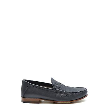 Tod's Ezbc025081 Men's Blue Leather Loafers