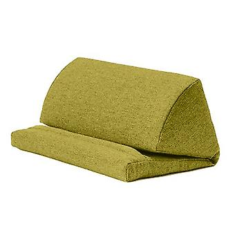 Bijpassende slaapkamers Olive Wool Effect Pull Out Faom Laptop Tablet Stand