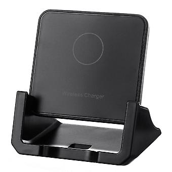 10W qi wireless charger fast charging desktop phone holder for qi-enabled smart phone for iphone 11 for samsung galaxy note 10+ xiaomi mi 9 huawei p30