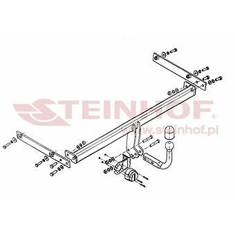 Steinhof Towbar (fixes 2 bolts) for Ford FIESTA VI Van 2009-2016