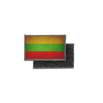 Patch ecusson prints vintage flag badge Lithuania