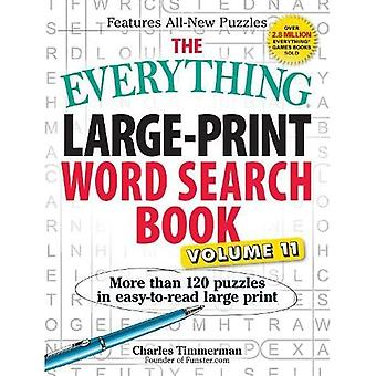 The Everything® Large-Print Word Search Book, Volume 11 (Everything(r))