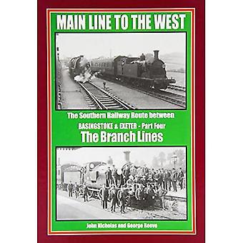 Hauptbahn nach Westen: Nebenbahnen Teil 4: die südliche Bahnstrecke zwischen Basingstoke und Exeter