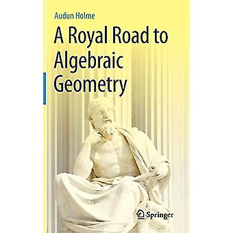 A Royal Road to Algebraic Geometry by Audun Holme - 9783642192241 Book