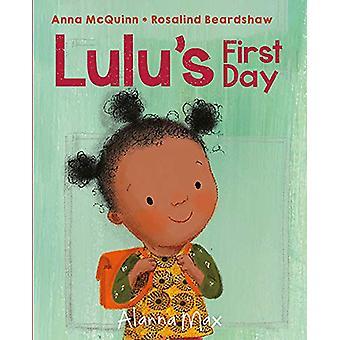 Lulu's First Day by Anna McQuinn - 9781907825217 Book