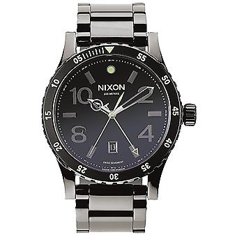 Nixon A277-1885 Men's Stainless Steel Watch - Zwart