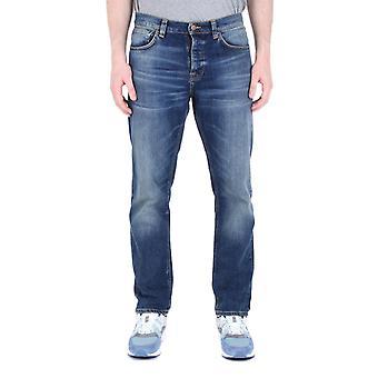 Nudie Jeans Co Steady Eddie 2 Indigo Denim Jeans
