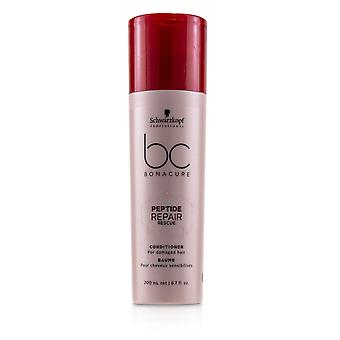 Bc bonacure peptide repair rescue conditioner (for damaged hair) 232303 200ml/6.7oz