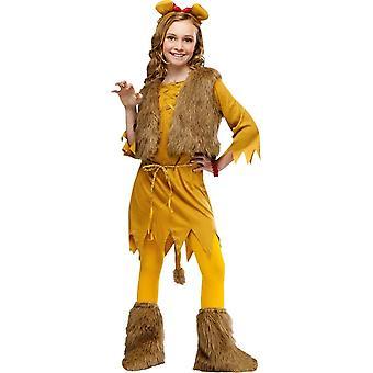 Miss Lion Child Costume