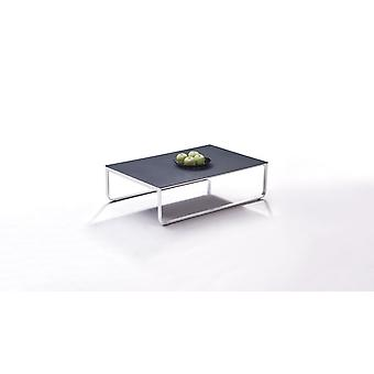 Acier inoxydable table Valencia 100 cm - anthracite