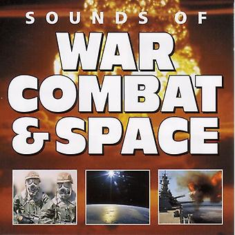 Effets sonores - War Combat & Space USA import