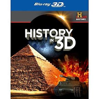 History in 3D [BLU-RAY] USA import