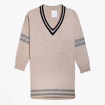 Delicate Love  - Wool Jumper Dress - Beige