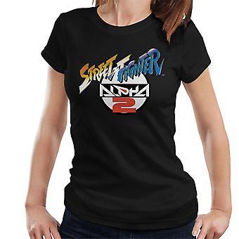 Street Fighter Alpha 2 Logo Women's T-Shirt