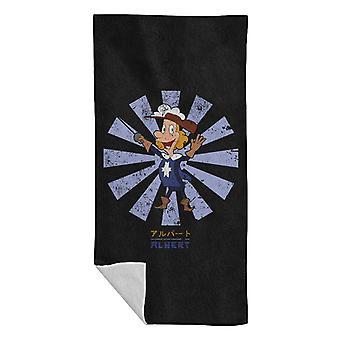 Albert Fifth Musketeer Retro Japanese Beach Towel