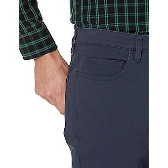 Goodthreads Men's Skinny-Fit 5-Pocket Chino, Marine 32W x 30L