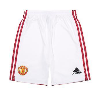 Manchester United FC Home Shorts 2020 / 2021 Hombres - KIT DE Fútbol OFICIAL