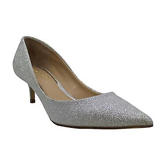 Jewel Badgley Mischka Women's ROYALTY Shoe, Silver Glitter, 7 M US