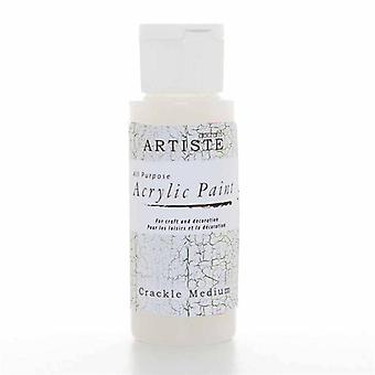Docrafts Pintura Acrílica (2oz) - Medio Crackle (DOA 763007)