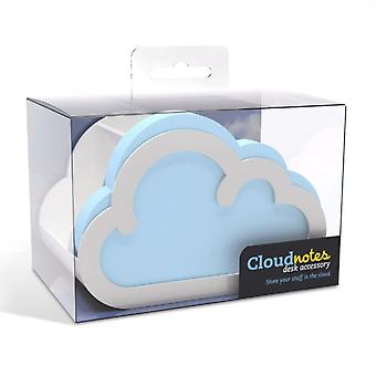 Cloud Notes Desk Accessory including one pad