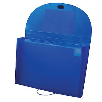 48305BNDL4EA, Biodegradable 7-Pocket Letter Size Expanding File, Blue (Set of 4 Files)