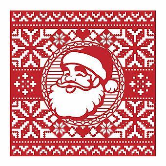 Première édition Christmas Craft a Card Die - Santa
