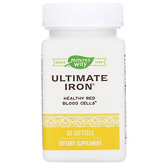 Nature's Way, Ultimate Iron, 90 Softgels