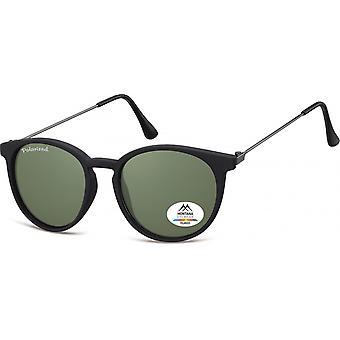 Óculos de Sol Unisex por SGB preto/verde (MP33)