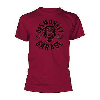 gass ape garasje ape mekaniker offisiell tee t-skjorte unisex