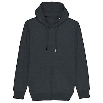 Britse Boxers Zip-Up Hoodie - Dark Grey Heather