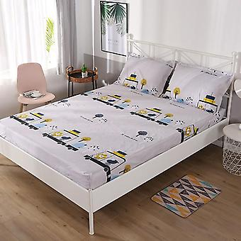 Waterproof High Elastic All-inclusive Bed Sheet Single Double Queen Size Fitted