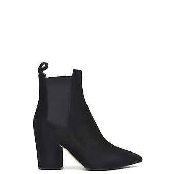 Sergio Rossi Ezbc040027 Femmes's Black Suede Ankle Boots