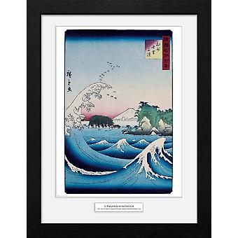 Hiroshige The Seven Ri Beach Collector Print
