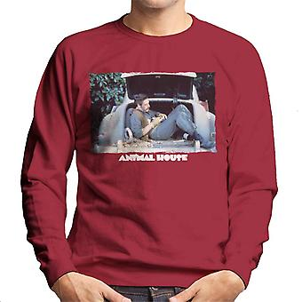Animal House Daniel Simpson Sitting In Car Boot Men's Sweatshirt