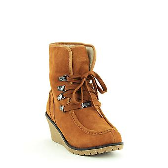 Khombu - France | Sienna Winter Wedge Boots