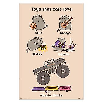 Pusheen, Maxi Poster - Toys for Cats