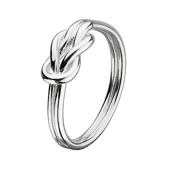 Heritage Sterling Silver Open Reef Knot Ring 22004HP