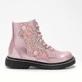 Lelli Kelly Girls Fairy Wings LK5544 Pink Boots
