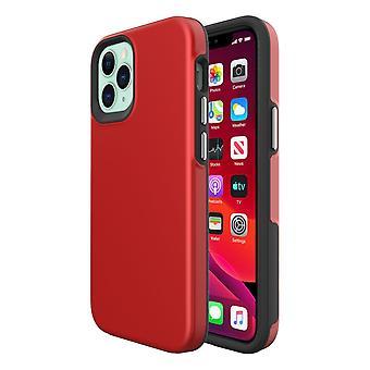 Für iPhone 12 Mini Case, stoßfeste Schutzhülle Rot