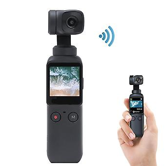 3-axis Pocket Gimbal Camera Stabilizer,  4k Hd 120° Wide Angle Built-in Wi-fi