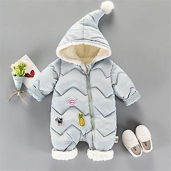ベビースノーウェア新生児スノースーツ - ウォームダウンコットン服ボディスーツ