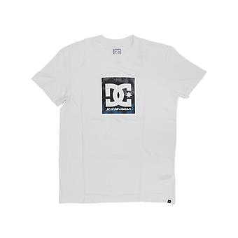 DC Double Down Short Sleeve T-Shirt in White