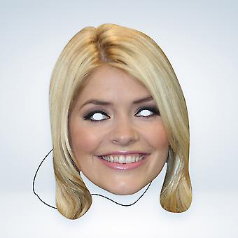 Mask-arade Holly Willoughby Celebrities Party Face Mask