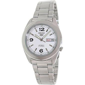 Seiko 5 Gent Watch SNKM73K1 - Stainless Steel Gents Automatic Analogue