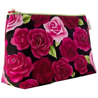 Pink Rose Garden Sponge Bag