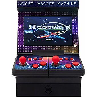 Aquarius 2 Spieler Arcade Retro Built-in 300 Spiele tragbares Videospiel für Kinder