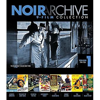 Noir Archive Volume 1: 1944-1954 [Blu-ray] USA import