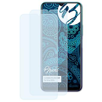 Bruni 2x Screen Protector compatible with Vivo Y20s Protective Film