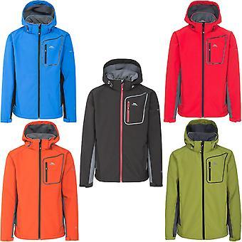 Trespass Mens Strathy II Softshell Hooded Outdoor Walking Hiking Jacket Coat